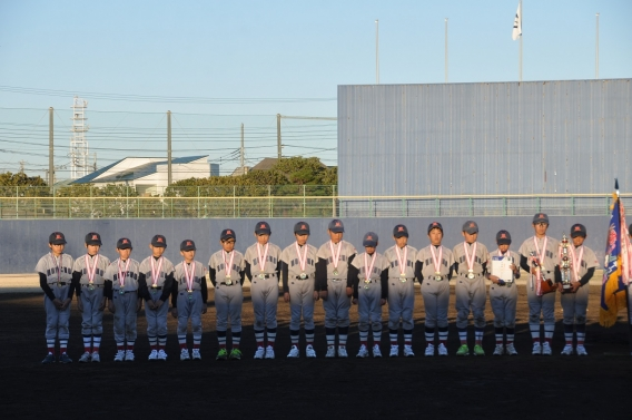 湘南リーグ高学年、低学年W準優勝!